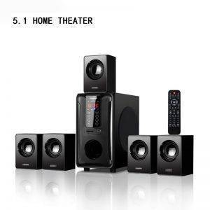 Control Touch 5.1 Channel Home Theatre Speaker System