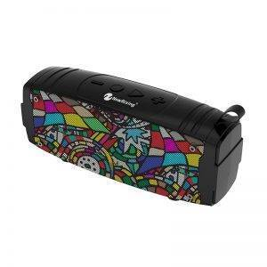 Colourful Stereo Rechargeable Bluetooth Speaker
