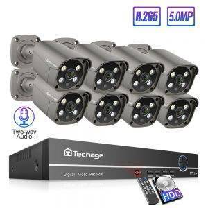 H.265 Home Security 8 Channel CCTV Set