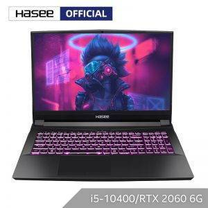 """Hasee TX8-CU5DK Laptop for Gaming(Intel Core I5-10400+RTX2060/16GB RAM/256SSD+1T HDD/16.1""""144hz 72%NTSC IPS ) Notebook computer"""