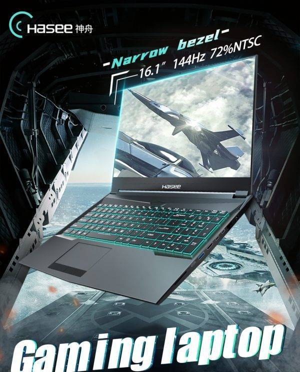 Hasee TX9 i7 10th Gen Top Spec Gaming Laptop