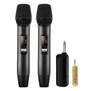 Wireless Microphones with Receiver