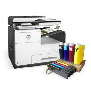 HP Page wide Pro 477DW Printer and XXL System