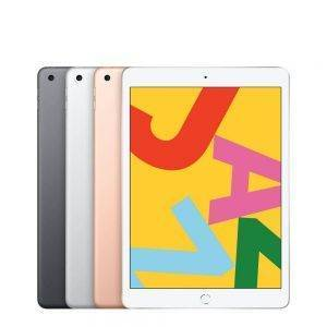 Apple iPad 2019 7th Gen 10.2″ Retina Display Supporting Apple Pencil and Smart Keyboard IOS Tablet