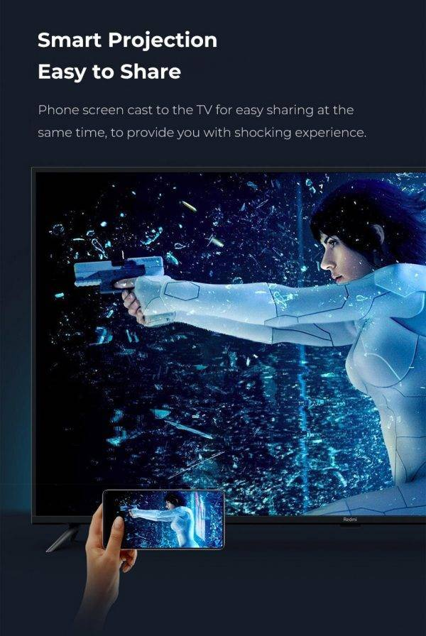 Xiaomi Redmi Smart TV 70 Inch 4K HDR 2GB/16GB Support Dolby Audio Smart TV