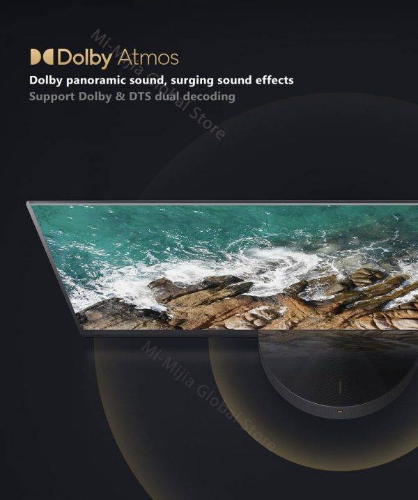 Xiaomi Transparent TV Master 55 Inch OLED 5.7mm Ultra-thin Screen Bluetooth 5.0 Dolby Atmos Smart TV
