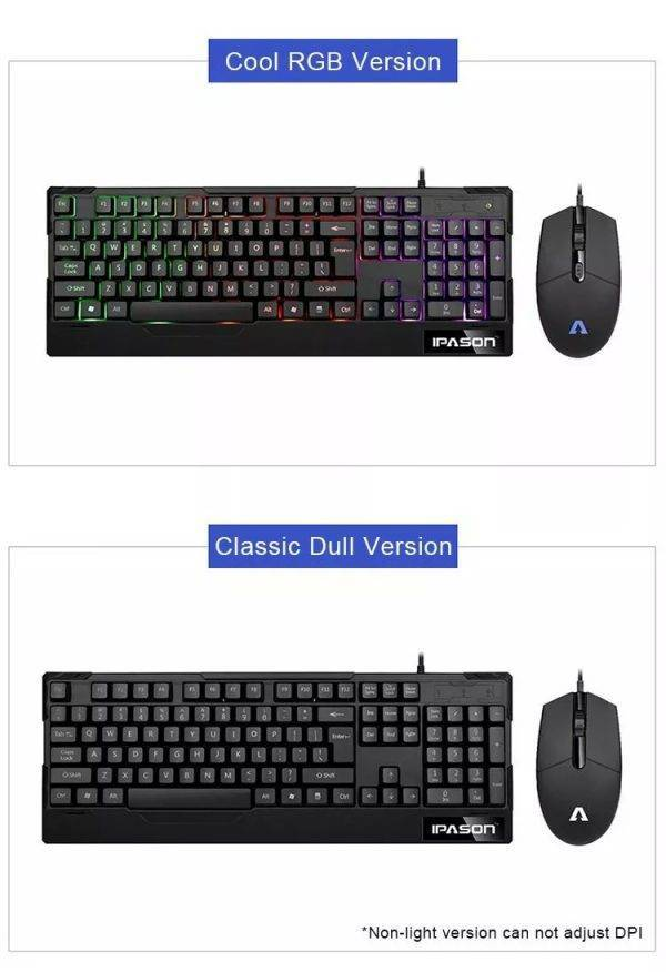 Professional Gaming Wired Backlit Keyboard